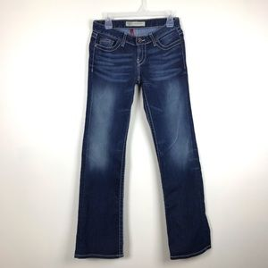 BKE 27x31 1/2 Stretch Madison Boot Denim Jeans